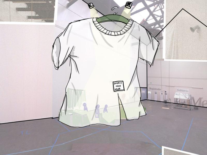 pretty big shirt